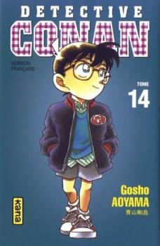 Couverture Détective Conan, tome 14 de Gosho Aoyama