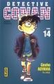 Couverture Détective Conan, tome 14 Editions Kana 1999