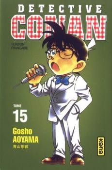 Couverture Détective Conan, tome 15 de Gosho Aoyama