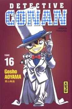 Couverture Détective Conan, tome 16 de Gosho Aoyama