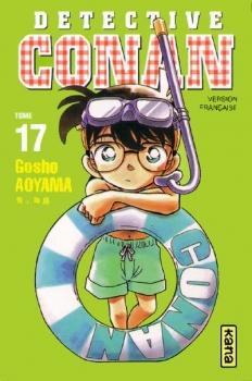 Couverture Détective Conan, tome 17 de Gosho Aoyama