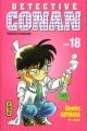 Couverture Détective Conan, tome 18 Editions Kana 1999
