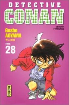 Couverture Détective Conan, tome 28