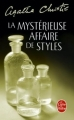 Couverture La Mystérieuse Affaire de Styles Editions Le Livre de Poche 2008