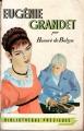Couverture Eugénie Grandet Editions Gründ (Bibliothèque précieuse) 1955
