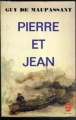 Couverture Pierre et  Jean Editions Le Livre de Poche 1983