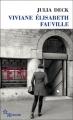 Couverture Viviane Elisabeth Fauville Editions de Minuit (Double) 2014
