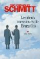 Couverture Les deux messieurs de Bruxelles Editions Albin Michel 2012