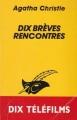 Couverture Dix brèves rencontres Editions Le Masque 1982