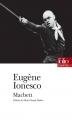 Couverture Macbett Editions Folio  (Théâtre) 2009