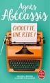 Couverture Chouette, une ride !, illustrée Editions Le Livre de Poche 2018