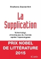Couverture La supplication Editions JC Lattès 1998