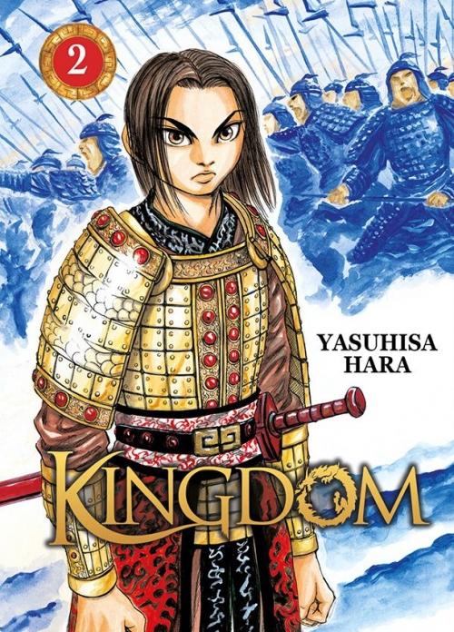 Couverture Kingdom, tome 02