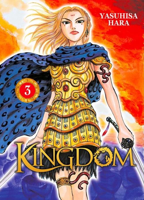 Couverture Kingdom, tome 03