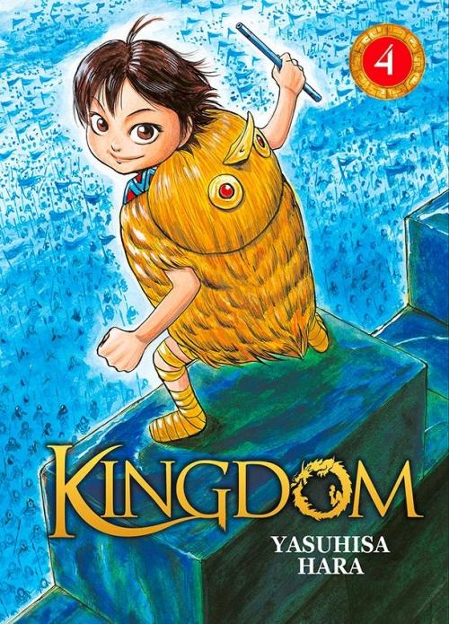 Couverture Kingdom, tome 04