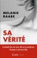 Couverture Sa vérité Editions JC Lattès 2018