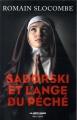 Couverture Sadorski et l'ange du péché Editions Robert Laffont 2018