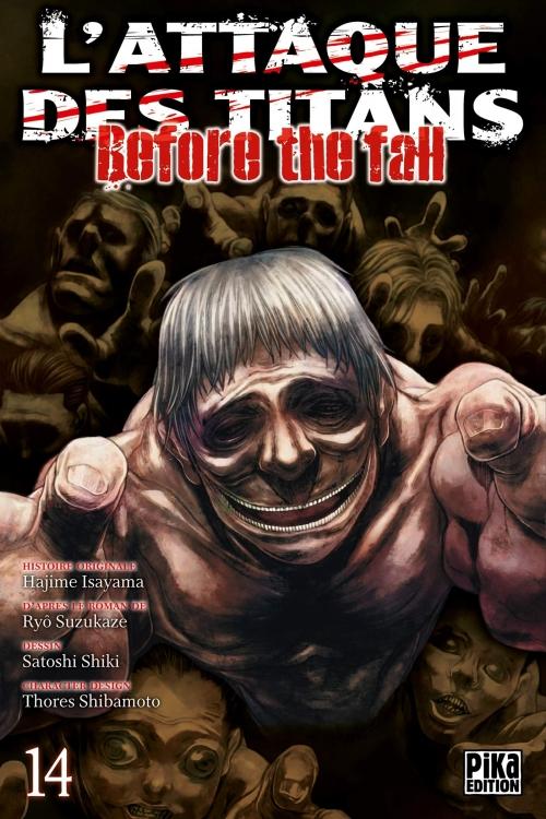 Couverture L'attaque des titans : Before the fall, tome 14