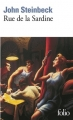Couverture Rue de la sardine Editions Folio  2015