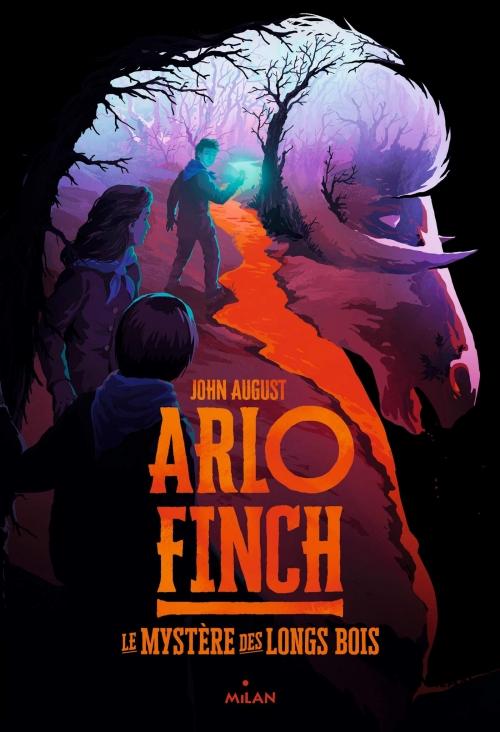 Couverture Arlo Finch, tome 1 : Le Mystère des Longs Bois