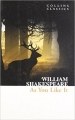 Couverture Comme il vous plaira Editions HarperCollins (Classics) 2011