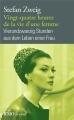 Couverture Vingt-quatre heures de la vie d'une femme Editions Folio  (Bilingue) 2015