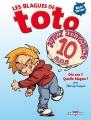 Couverture Les blagues de Toto, tome hs : Dix ans ? Quelle blague ! Editions Delcourt 2014