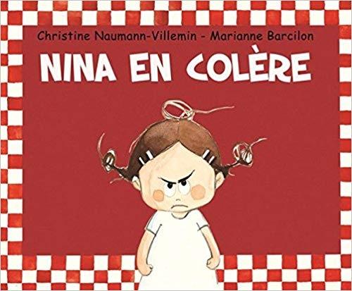Couverture Nina en colère
