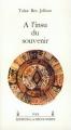 Couverture A l'insu du souvenir Editions La découverte 1987