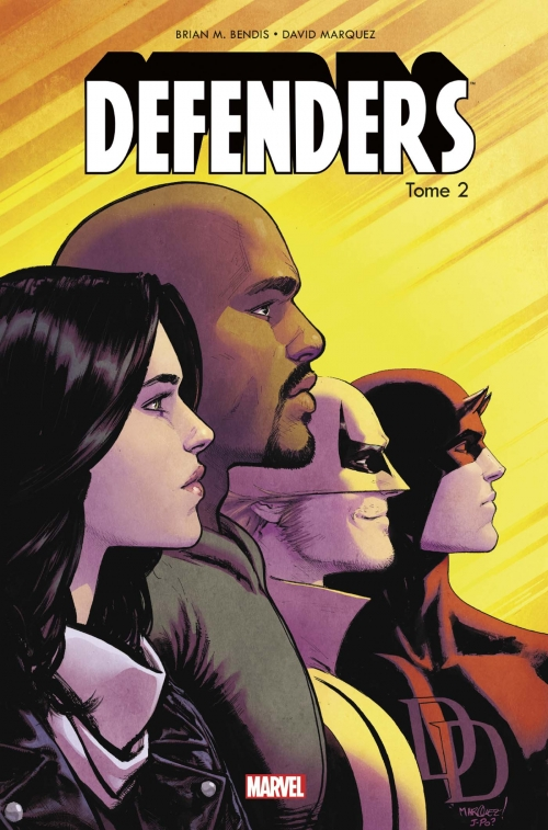 Couverture Defenders, tome 2 : Les Caïds de New-York