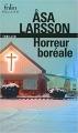 Couverture Horreur boréale Editions Folio  (Policier) 2003