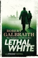 Couverture Cormoran Strike, tome 4 : Blanc mortel Editions Sphere 2018