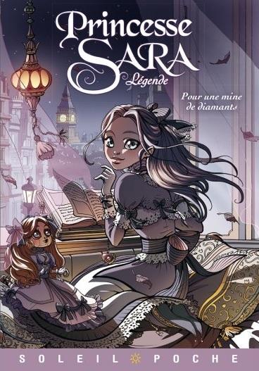 Couverture Princesse Sara Légende, tome 1 : Pour une mine de diamants