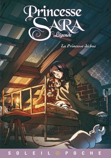 Couverture Princesse Sara Légende, tome 2 : La Princesse déchue