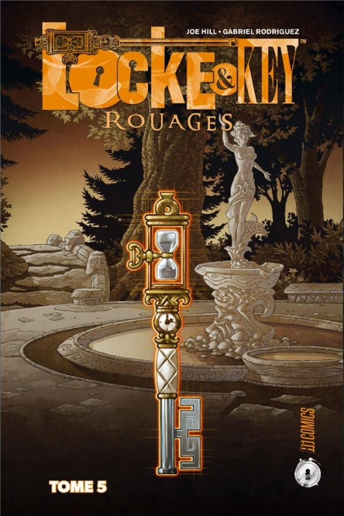 Couverture Locke & Key, tome 5 : Rouages