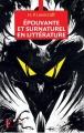 Couverture Epouvante et surnaturel en littérature Editions Pierre Guillaume de Roux 2014