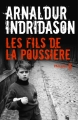 Couverture Les fils de la poussière Editions Métailié (Noir) 2018