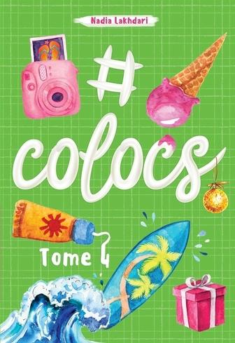 Couverture #colocs, tome 4
