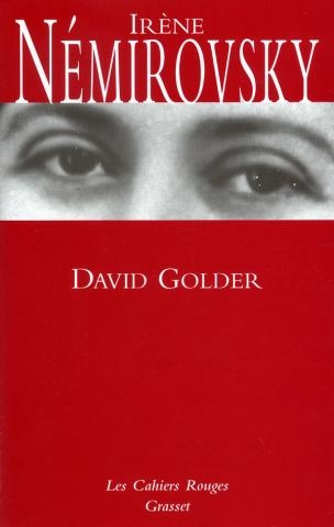 Couverture David Golder