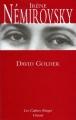 Couverture David Golder Editions Grasset (Les Cahiers Rouges) 2005