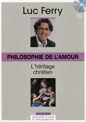 Couverture Philosophie de l'amour