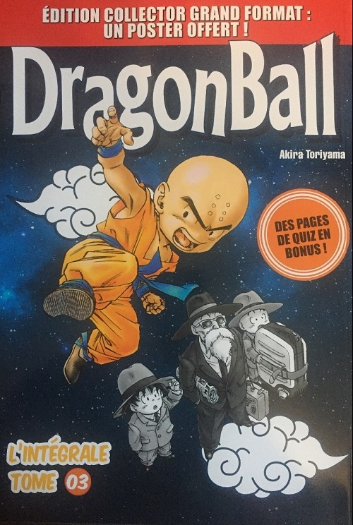 Couverture Dragon Ball (Grand format), tome 3