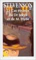 Couverture Le cas étrange de Dr Jekyll et de Mr Hyde Editions Flammarion (GF) 1994
