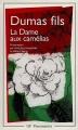 Couverture La Dame aux camélias Editions Arthaud Flammarion 2015