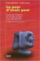Couverture La peur d'avoir peur Editions Stanké 2005