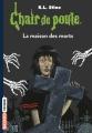 Couverture La maison de Saint-Lugubre / La maison des morts Editions Bayard (Frisson) 2017