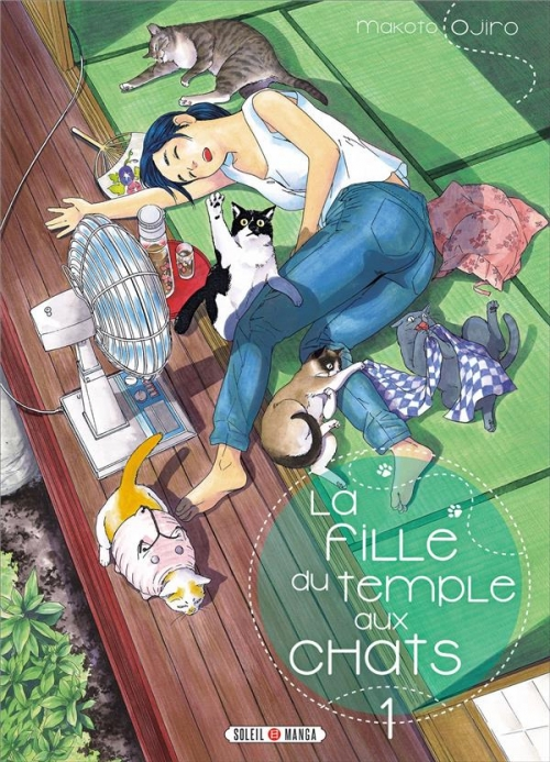 Couverture La fille du temple aux chats, tome 1