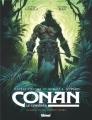 Couverture Conan le Cimmérien : Au-delà de la rivière noire Editions Glénat (Grafica) 2018