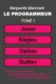 Couverture Le programmeur Editions Autoédité 2018