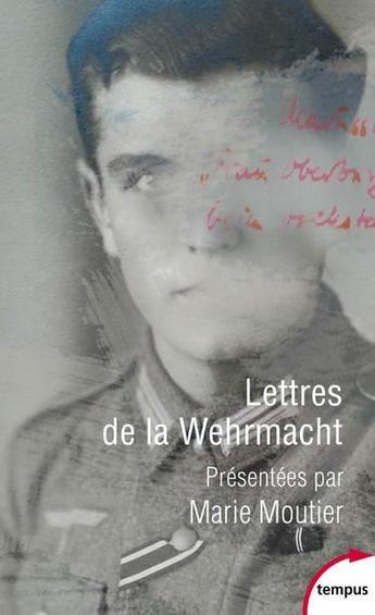 Couverture Lettres de la Wehrmacht